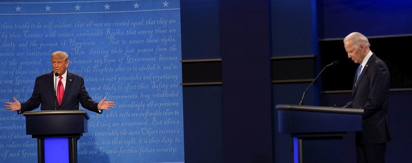 Трамп обвинил Байдена в получении денег от Путина: кандидат в президенты в ответ вспомнил об Украине