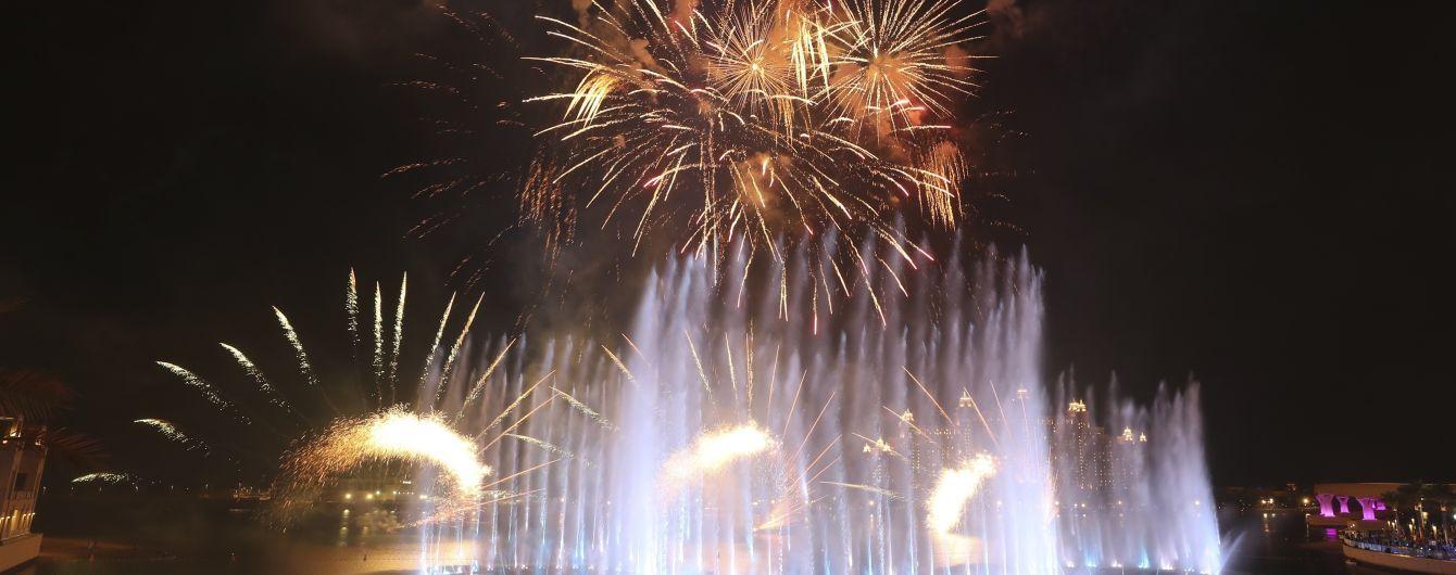 Найбільший у світі фонтан відкрили у Дубаї