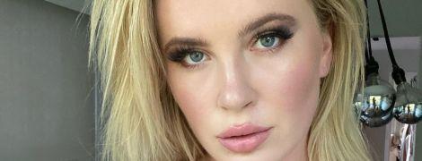 """""""Непропорційні циці"""": 25-річна донька Бессінджер без макіяжу попозувала топлес"""