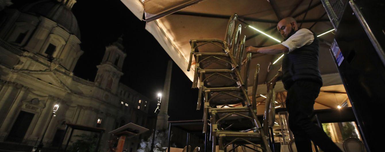 В Италии рестораторы вышли на протесты из-за карантина: их разогнали слезоточивым газом