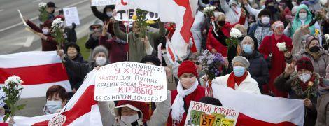 У Білорусі у перший день загальнонаціонального страйку затримали понад три сотні людей, зокрема неповнолітніх