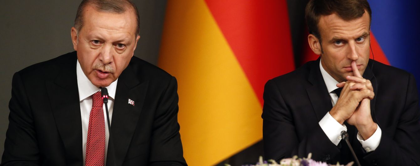 """Эрдоган посоветовал Макрона """"лечить психику»: в ЕС уже отреагировали на жесткое высказывание"""