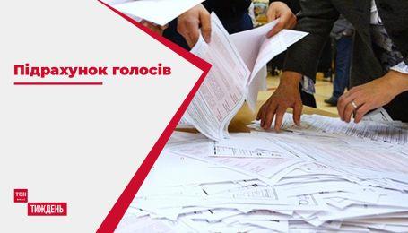 Як підраховують голоси у партійних штабах основних конкурентів на місцевих виборах