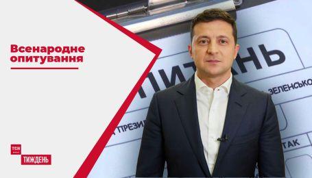 Всенародне опитування: які настрої викликали запитання Зеленського серед українців
