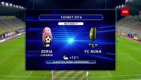 Заря - Рух- 4:0. Обзор матча