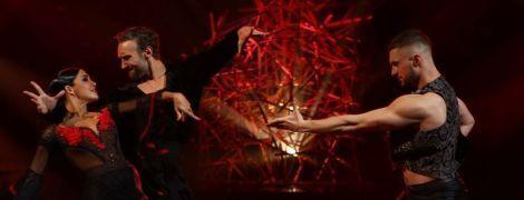 """Новий партнер Саніної та пристрасне фламенко Дімопулос: як минув дев'ятий ефір """"Танців з зірками"""""""