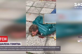 Збив паркан та протаранив патрульну автівку: в Одесі правоохоронці затримали нетверезого водія
