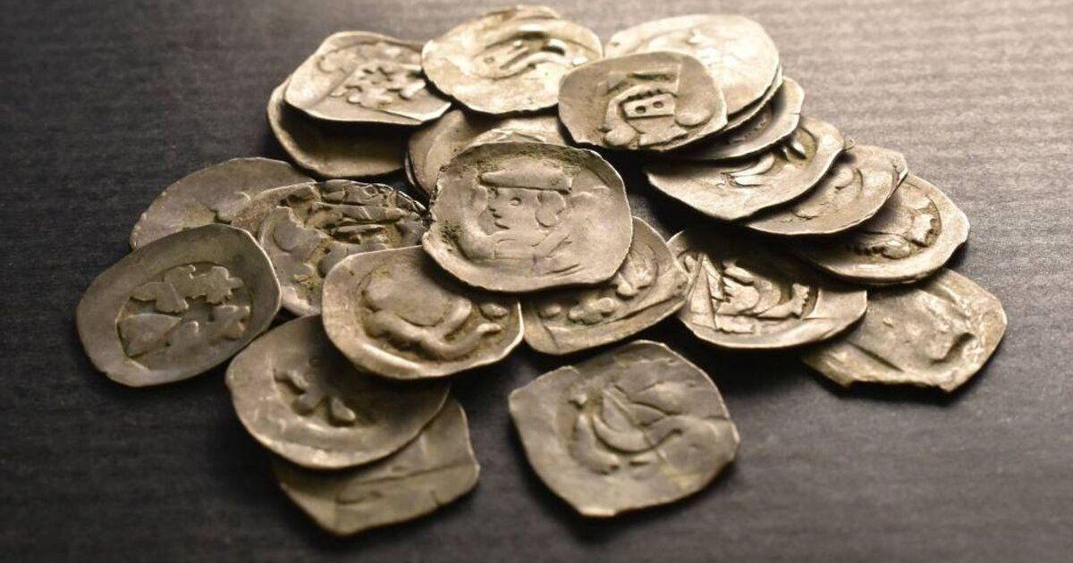 У Словаччині турист під деревом знайшов скарб срібних монет