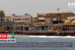 В Египетском Шарм-эль-Шейхе семья украинских туристов пострадала от нападения акулы