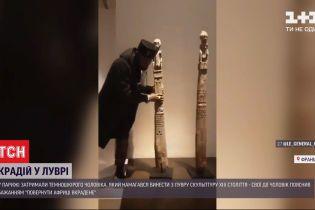 Вернуть Африке украденное: в Париже задержали мужчину, который пытался вынести из Лувра скульптуру