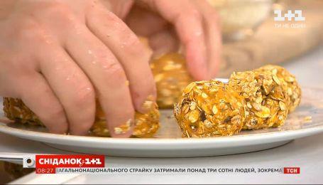 Конфеты из злаков и тыквенного пюре – рецепты Евгения Клопотенко