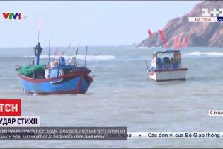 Во Вьетнаме больше миллиона человек должны оставить дома из-за разрушительного тайфуна