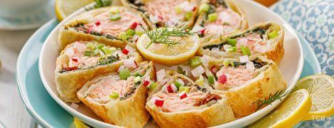 П'ять найкращих рецептів випічки з рибою і морепродуктами