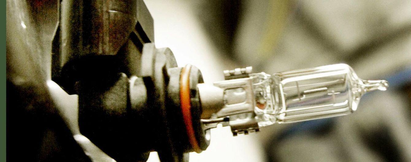 Водіїв попередили про штраф за самостійно встановлені ксенонові лампи на авто