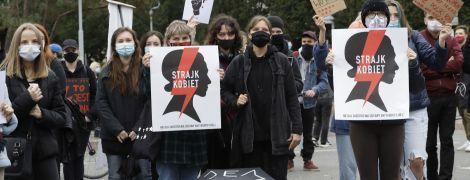 У Польщі не вщухають багатотисячні акції протестів через заборону абортів