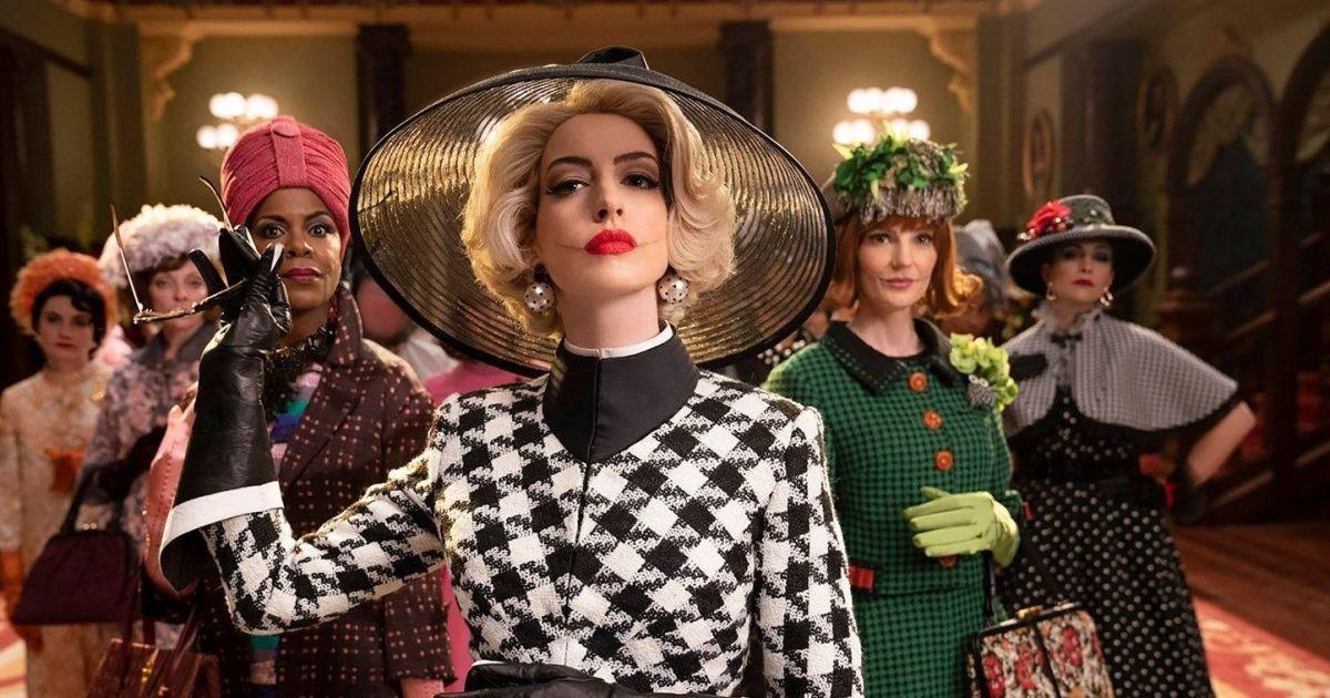 """Накладні протези, важкий грим і стильні вбрання: Енн Гетевей у фільмі """"Відьми"""""""
