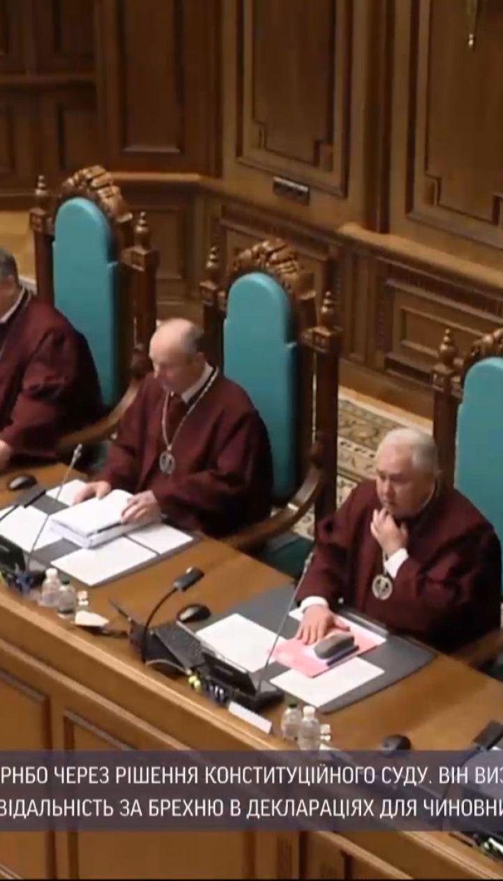 Рішення Конституційного суду дає підстави призупинити безвізовий режим для України