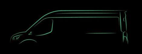 Ford анонсував повністю електричний фургон Transit