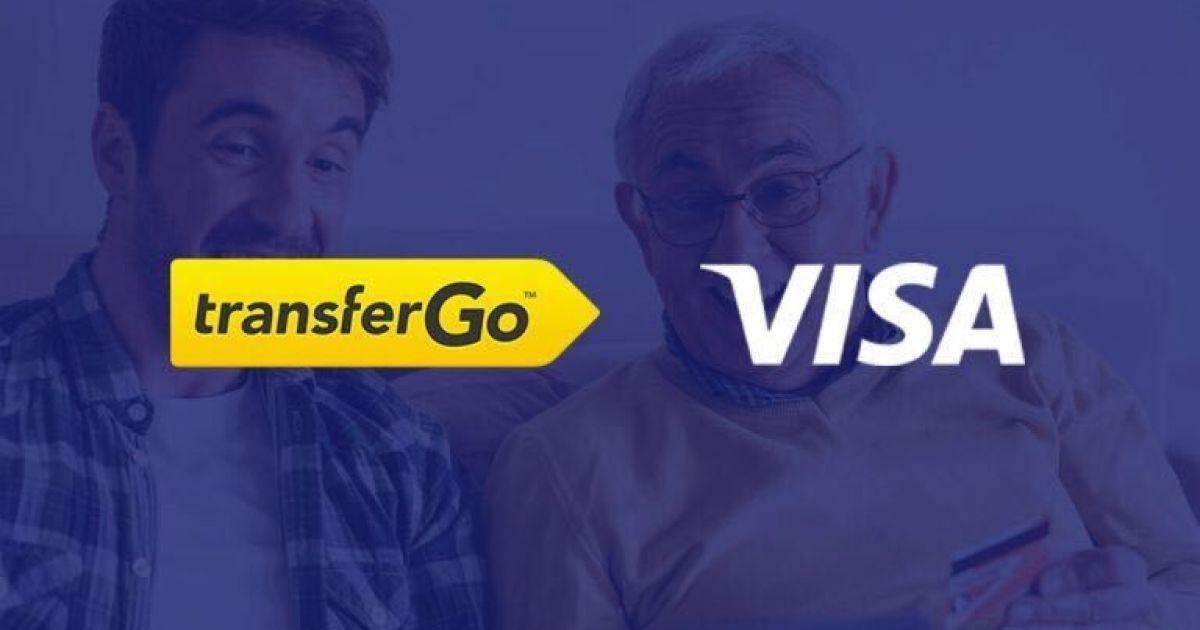 TransferGo оголошує про співпрацю з Visa у створенні світового сервісу миттєвих грошових переказів