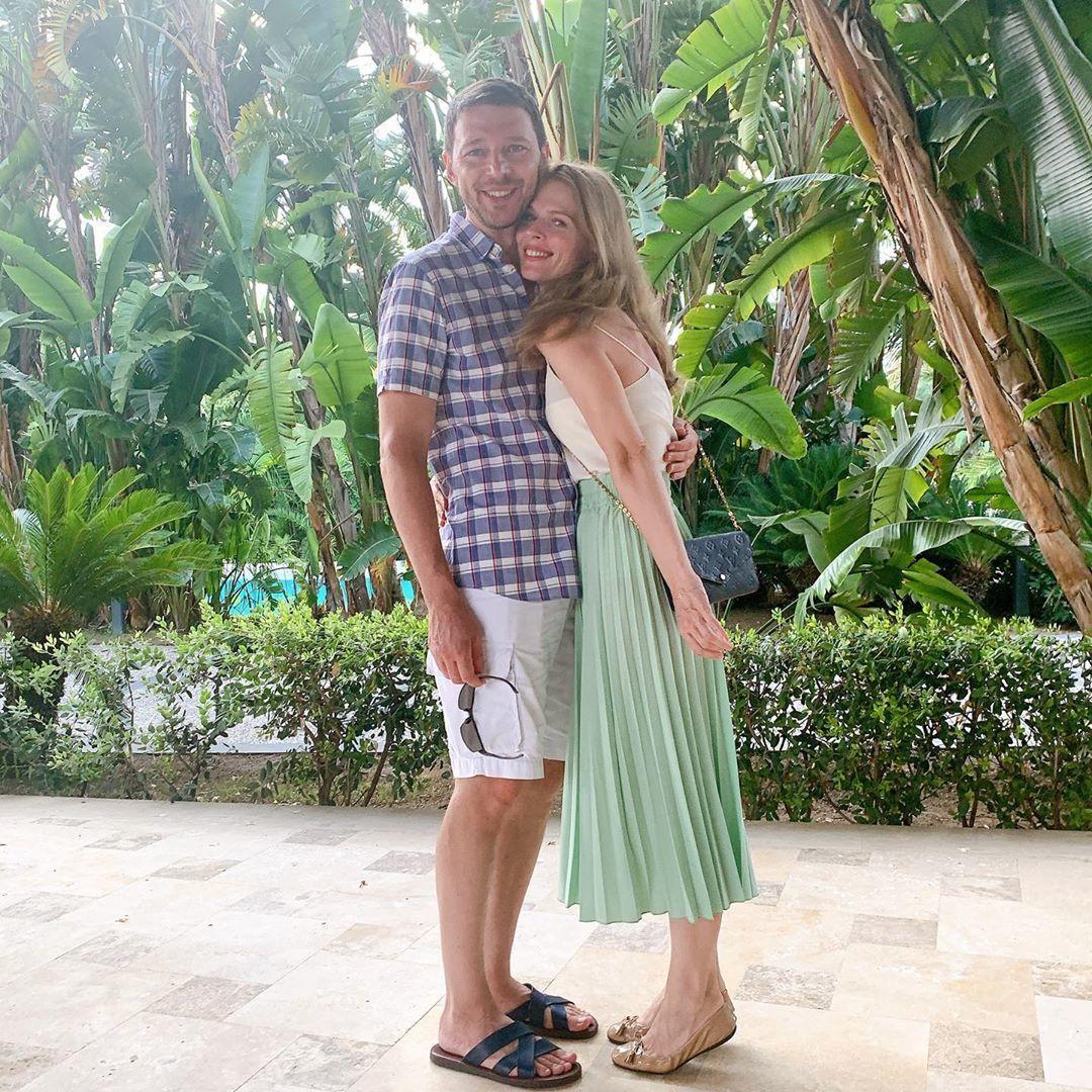 Ольга Фреймут з чоловіком