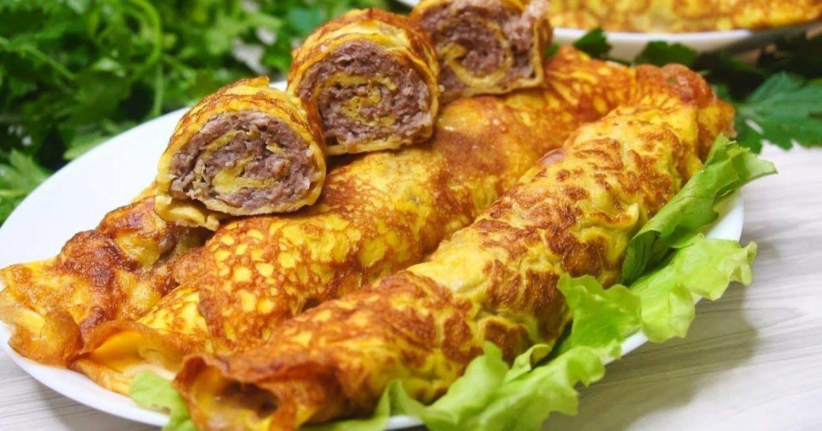 Завтрак с французским колоритом: готовим бризоль с мясом и грибами