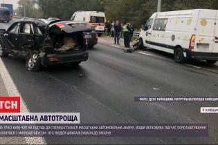 Авария на Житомирской трассе: 7 пострадавших остаются в медучреждениях