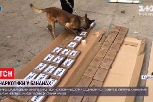 Брикети між бананами: в Одеській області правоохоронці виявили партію кокаїну