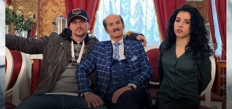 Григорій Чапкіс з дітьми