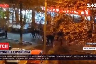 В Ивано-Франковске 47-летний мужчина без объяснений начал стрелять по прохожим