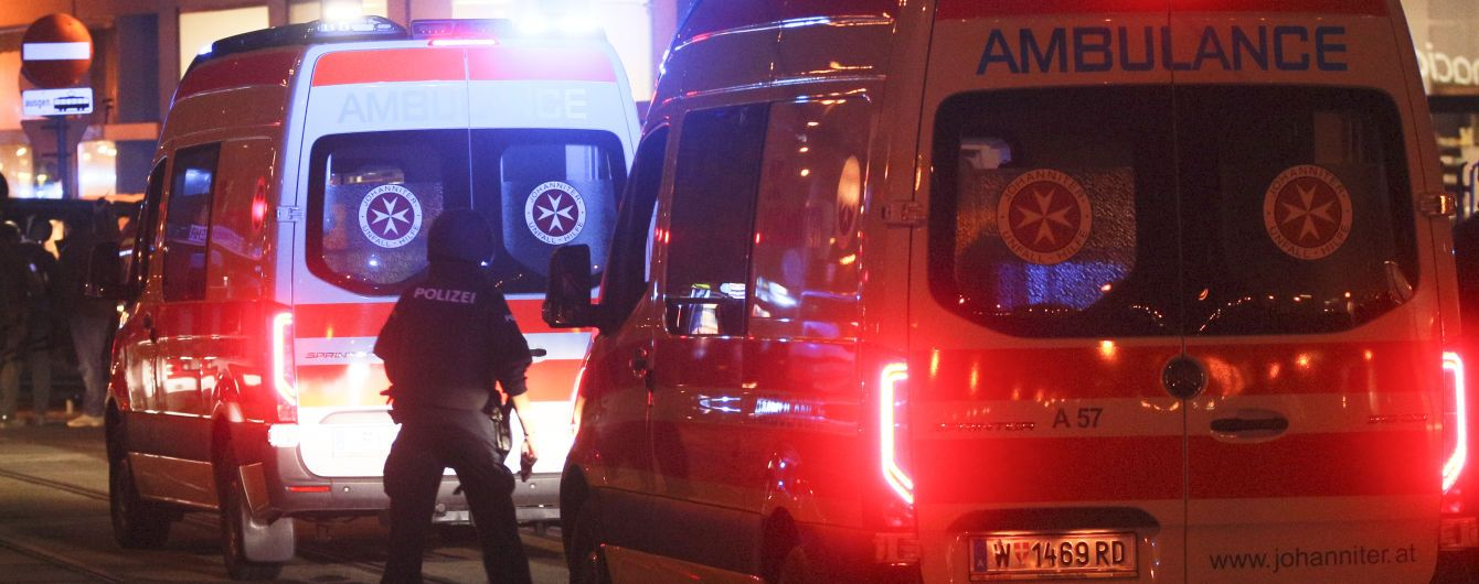 Из-за теракта в Вене ранения получили 15 человек: преступники в бегах