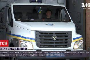 Одесские полицейские нашли и задержали осужденного, сбежавшего из автозака
