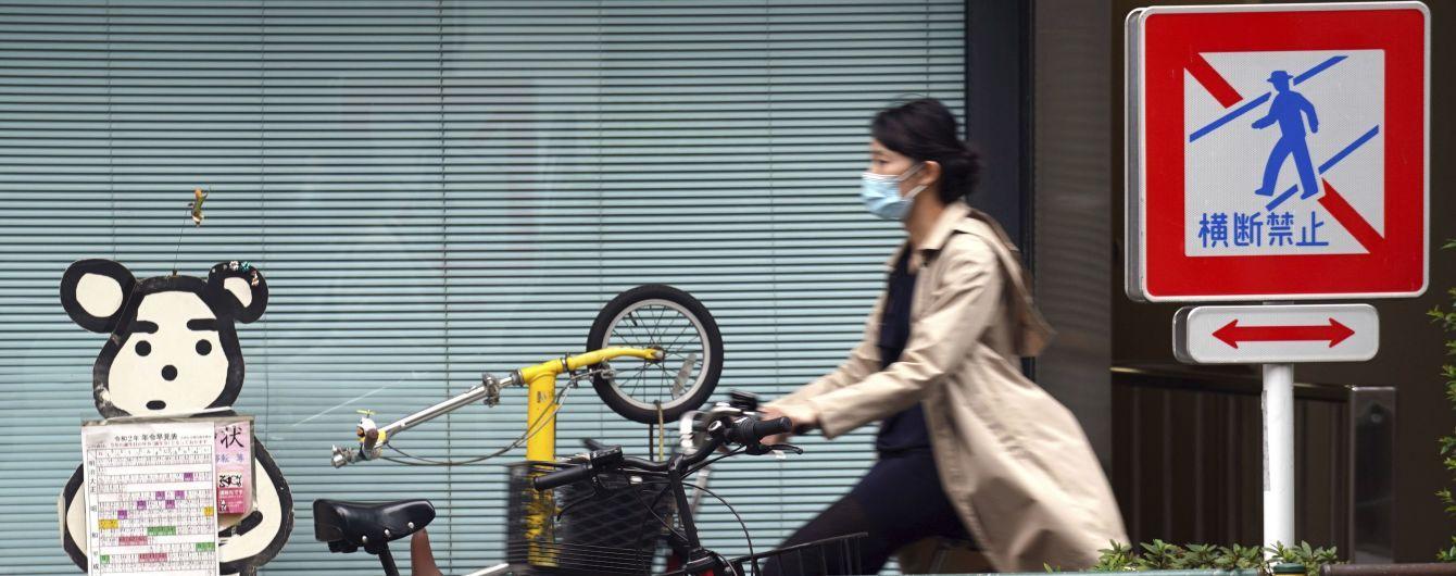 У Токіо продовжать режим надзвичайної ситуації на тлі боротьби з коронавірусом