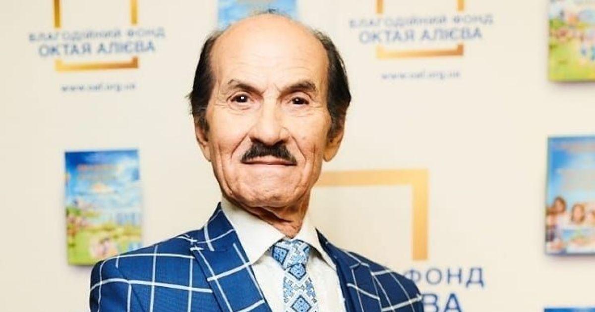 """90-річний Григорій Чапкіс повідомив причину повторної госпіталізації: """"Легені бешкетують"""""""