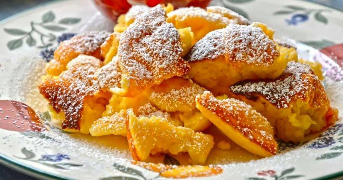 Завтракать, как император: австрийский сладкий омлет кайзершмаррн