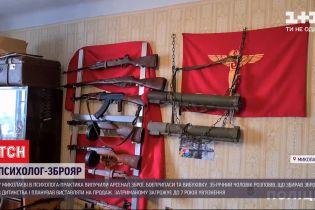 7 лет заключения грозит психологу, который в Николаеве хранил целый арсенал оружия