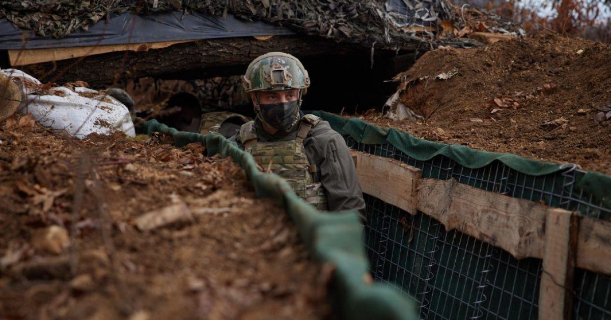 Бойовики в останній день 2020 року та на Новий рік 10 разів відкривали вогонь в бік українських позицій