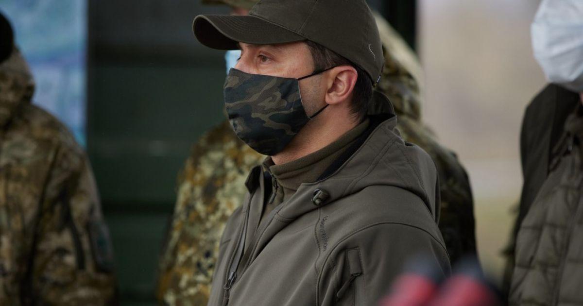 Зеленський на другий день після вбивства на Донбасі військового висловив співчуття рідним