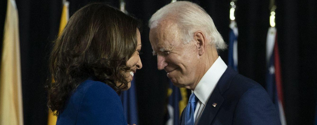 """""""Ми зробили це, Джо"""": нова віцепрезидентка Гарріс опублікувала емоційне відеопривітання"""