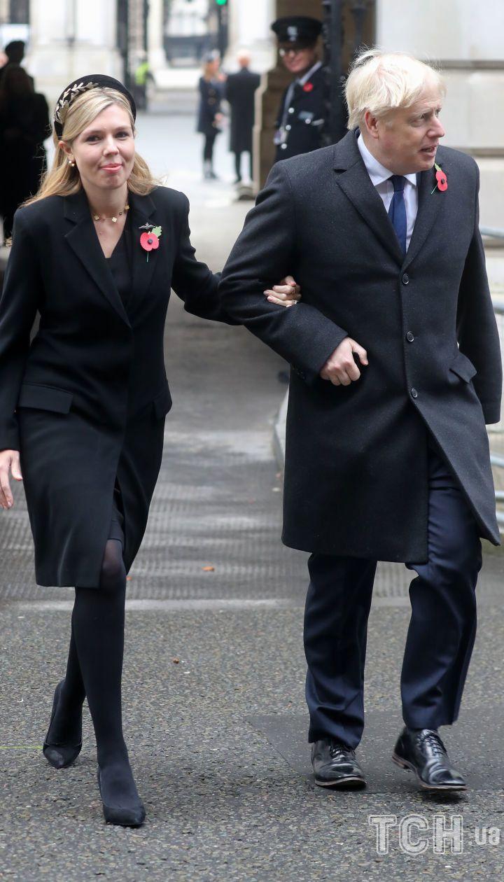 Борис Джонсон с супругой
