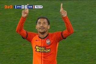 Динамо - Шахтар - 0:3. Гол Патріка