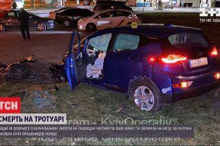 В Киеве водитель не справился с управлением и насмерть сбил полицейскую