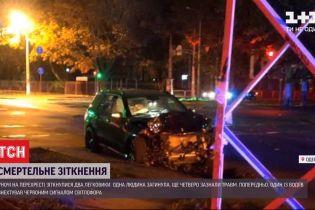 Смертельное столкновение в Одессе: один человек погиб, еще четверо находится в больнице