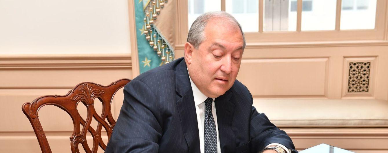 """""""Ми програли війну"""": президент Вірменії заявив про """"неминучість"""" відставки Пашиняна"""