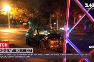 На регулируемом перекрестке в Одессе произошла смертельная ДТП