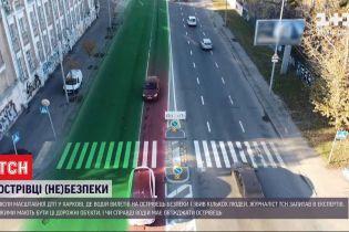 Острівці небезпеки: після ДТП у Харкові експерти заговорили про облаштування дорожніх конструкцій