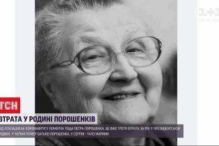 Третя втрата за рік у сім'ї Порошенка: теща п'ятого президента померла від ускладнень COVID-19