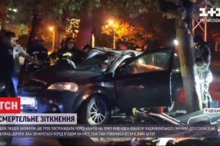 Внаслідок аварії на трасі Київ-Одеса загинули двоє людей, ще трьох шпиталізували