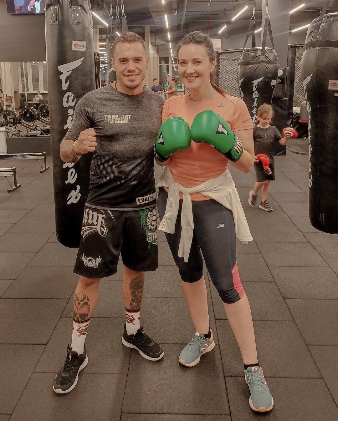 Соломия Витвицкая занялась боксом — фото - Гламур - TCH.ua
