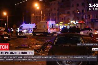 """Ночная авария в Днепре: водитель """"Инфинити"""" спровоцировал ДТП с пятью машинами - один человек погиб"""