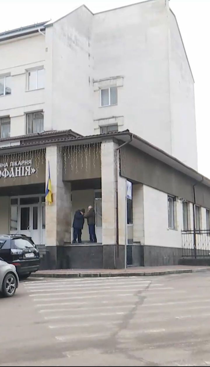 """В больнице """"Феофания"""" для Зеленского оборудовали кабинет, в котором он проводит селекторные совещания"""